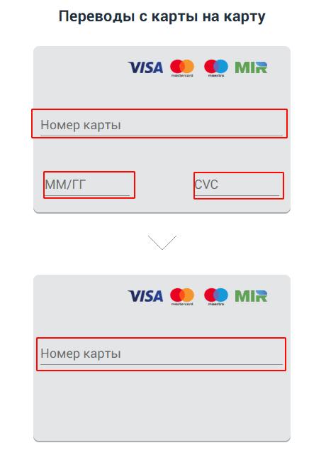 Альфа банк перевод по номеру карты